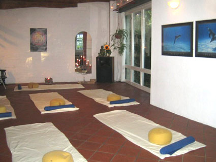 Yoga im Spielraum